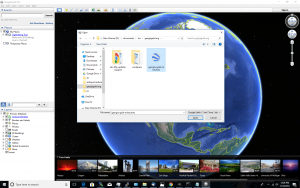 step 1 -- open kmz file in google earth